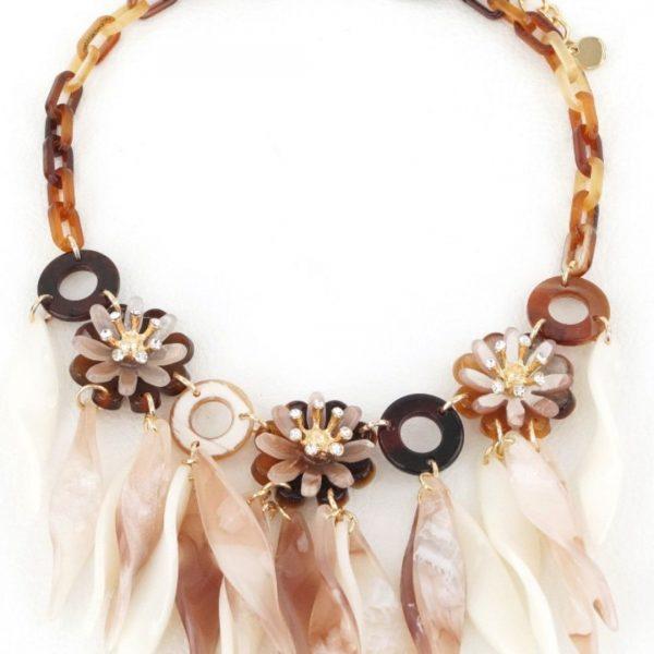 Halskette natur.braun, seniera.design
