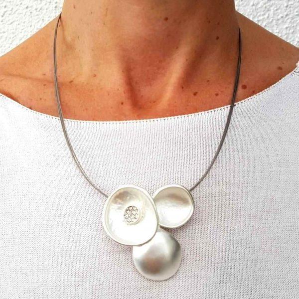 Seniera Design Halskette silber