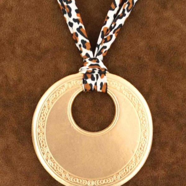 Halskette Damen goldfarben, Seniera.design