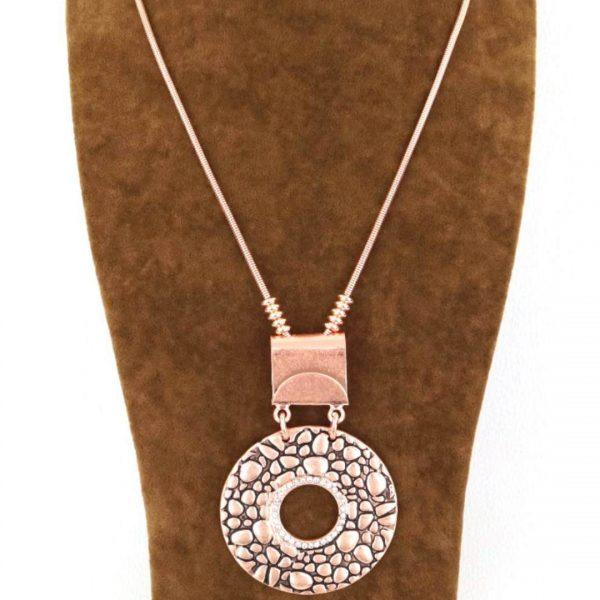Halskette Schlange Rose-gold, seniera.design