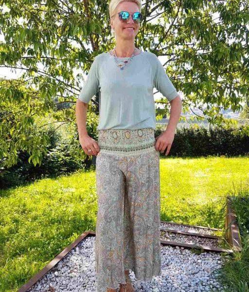 Feinstrick Shirt grün, seniera.design
